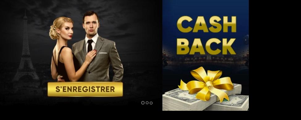 Recevez 10% de cashback tous les jours sur Casinolariviera.net