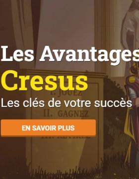 Pourquoi adopter Cresus Casino comme votre casino en ligne ?