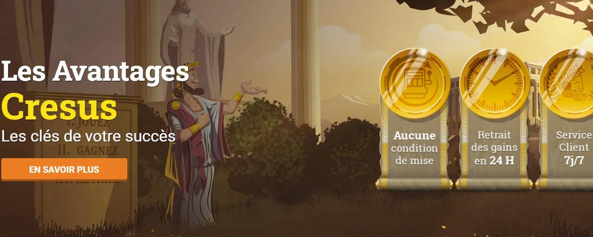 Pourquoi adopter Cresus Casino comme votre casino en ligne