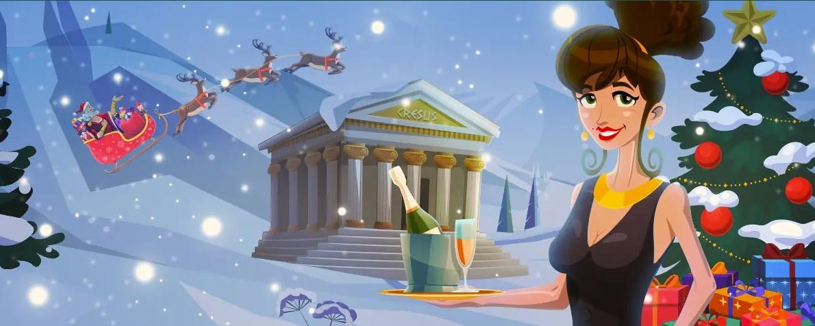 Profitez des offres de Noël sur Cresus Casino