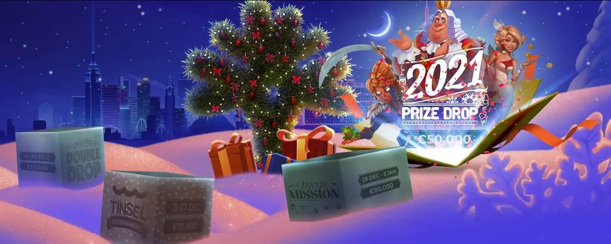 Spéciale promotion 2021 Prize Drop avec 50 150 € sur Lucky8