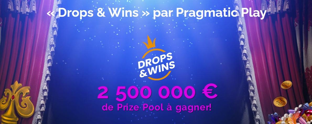 Spéciale promotion « Drop & Wins » sur Montecryptos Casino